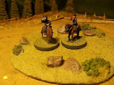 Union Officers, ACW, 15mm