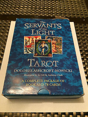 The Servants Of The Light Tarot Dolores Ashcroft-Nowicki Complete Package Cards