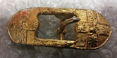 Colonial/Pre WW1 NSW Military Force Officers Sword Belt Buckle - Very Scarce