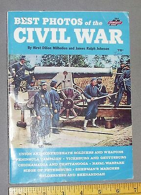 Fawcett How-to-Book-Best Photos of the Civil War, 1965 #597, many photos......