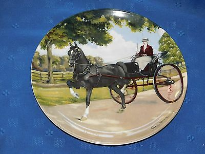 Spode Display Plate The Hackney The Noble Horse Collection ltd. Ed. Equine