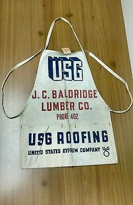 Vintage Advertisting Apron Woodworkers  Hardware Store Albuquerque NM History