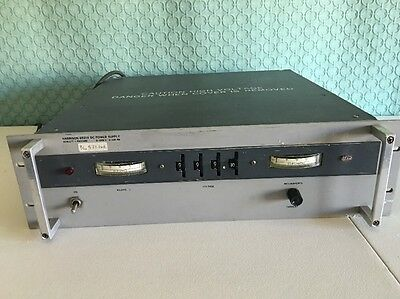 HP Harrison 6521A 0-1000V Variable High Voltage DC Power Supply USA MADE