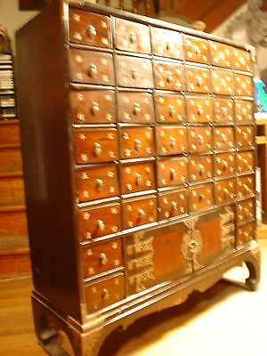 40 Drawer Chinese Apothecary Cabinet.