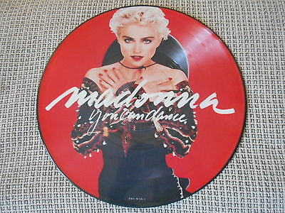 MADONNA You Can Dance PICTURE DISC LP rare PROMO 1987 NM