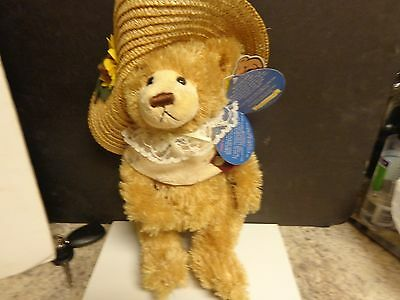 Cathy Bear Of Love Brass Button Pickford Bear Collectable