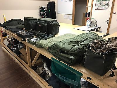 Carp Fishing Luggage And Accessories Bundle