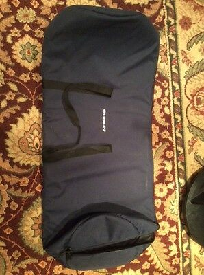 Orion 15174 47x13.5x18.5 Inches Padded Telescope Case (Blue)
