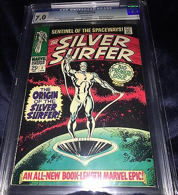 1968 Silver Surfer 1 CGC 7.0 VF First Surfer In Own Book