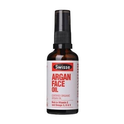 SWISSE FACE SKIN ARGAN OIL CERTIFIED ORGANIC 50ML *no box*
