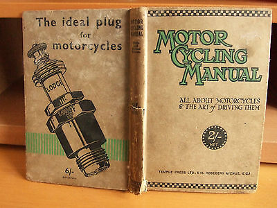NINTH Edition : Motor Cycling Manual All About Motorcycles & Art of Driving Them