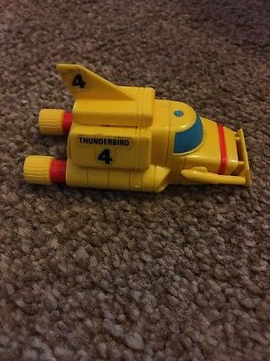 Thunderbird 4 Rescue Vehicle For Tb2 Bandai 1992 Lovely Condition