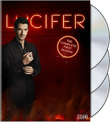 Lucifer: The Complete First Season - 3 DISC SET (2016, DVD NUOVO) (REGIONE 1)