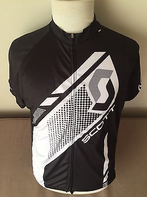 mens Scott cycling jersey  Size Extra Large As New