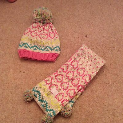 Marks & Spencer Hat And scarf Set For Girl Size 18-36m