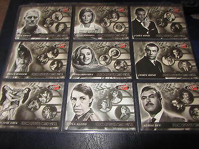 James Bond GOLDGINGER/FROM RUSSIA WITH LOVE 18 card commermorative set