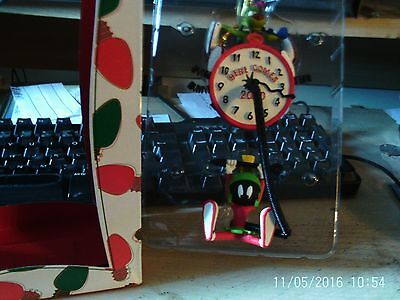 Warner Brothers Marvin The Martian Countdown To 2000 Clock Tree Ornament