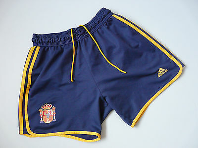 "Vintage Spain Adidas Football Shorts Sz D4 37"" Small (019)"