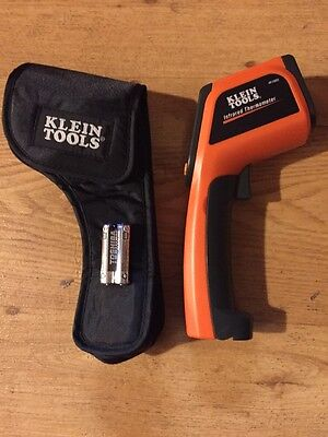 New- Klein Tools IR1000 12:1 Infrared Laser Digital THERMOMETER