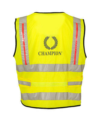 Champion High Vis Tabard with Powered Lights Size S/M