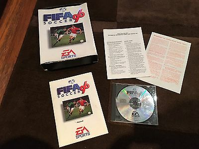 Fifa Soccer 96 PC CD Rom Original Big Box Game by EA Sports