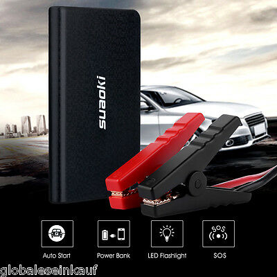 12V Car Jump Starter Emergency Camping Power Bank Pack Booster Battery Charger