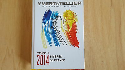Yvert & Tellier Catalogue Timbres de France 2014 Tome 1 (in Farbe)