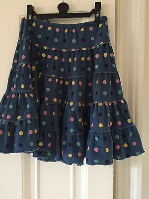 Boden girls   Spots  Skirt Age 9-10