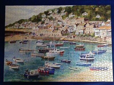 1000 piece jigsaw puzzle from Gibsons, Mousehole by Terry Harison