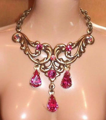 Tyler Sydney Crystal Rose Jewelry Set