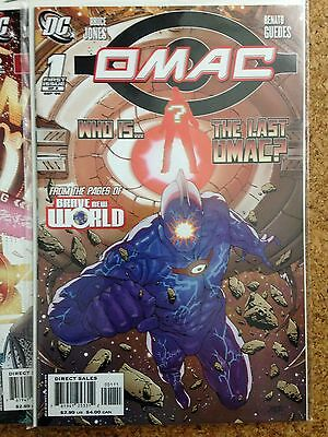 DC Limited Series Full Run OMAC (2006 to 2007) # 1 - 8 all 8 issues
