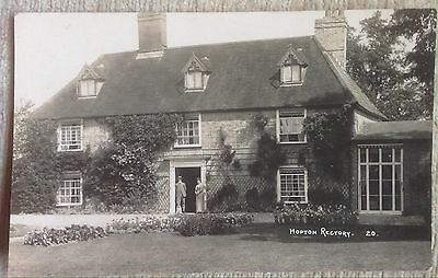 Hopton Rectory (Showing Vicar And Female)