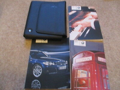 BMW 1 Series Coupe Con Owners Handbook Manuals & Wallet 2007 - 2011 fast post