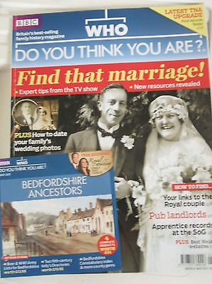 Who Do You Think You Are Magazine with Bedfordshire Ancestors C.D