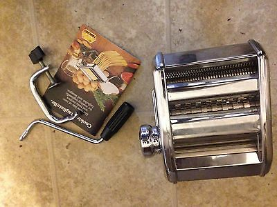 BRAND NEW Marcato Ampia OMC MOD 150 Pasta Making Machine Made in Italy $10 Off