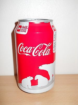 canette coca cola belge 2013 ours