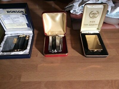Ronson Gas Lighters