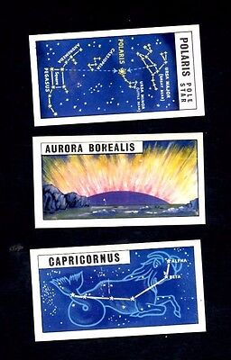 Rare Brooke Bond Tea Out Into Space (Issued With) Qty 3 cards