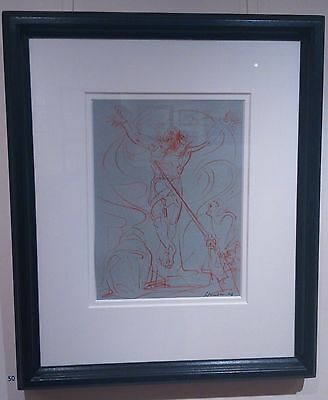 Peter Howson original drawing