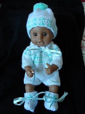 "Hand Knitted Dolls Clothes For 12./13"" Dolls"