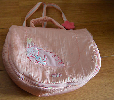 Children's Girls Baby Annabell Doll Pink Changing Bag Toy