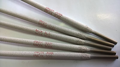 3.25mm Stainless Steel electrodes ,ARC,MMA ,SMAW WELDING.5pcs x 350mm/35cm