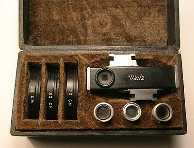 Vintage Waltz Close Up Macro Set for Rangefinder Camera MINT