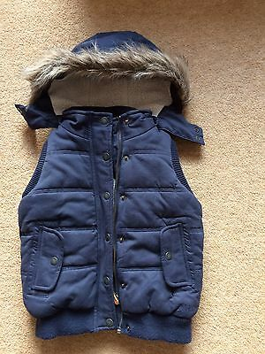 Girls Fat Face Gilet Age 6-7yrs