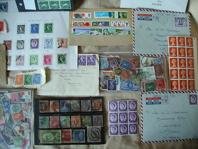 TERRIFIC GB mixed collection PLUS (inc QV , Kings, A QV 2s6d, Mint, covers ++) !