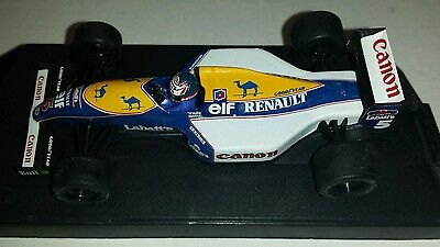 Two Onyx/minichamps  Formula 1 Retro Racecars Williams F1 Camel F1