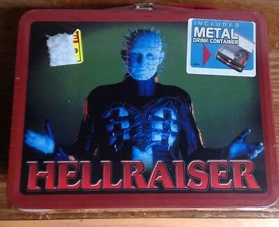 Hellraiser, lunch box, new, with thermos