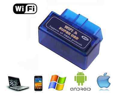 Interface Mini Wifi Obd2 Obd - Iphone Android Diagnostique - Scanner Elm 327