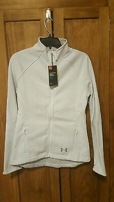 nwt Women's Under Armour Storm Full zip jacket size sm