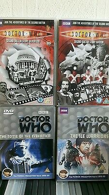 Doctor who dvds 2nd dr